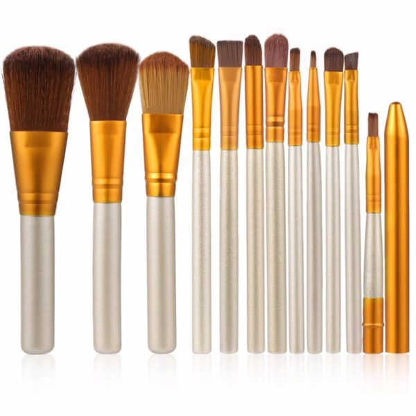 Makeup Brushes Set of 12 Pcs