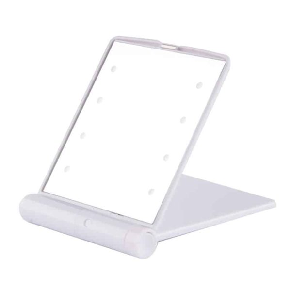 Folding LED Make-up Mirror