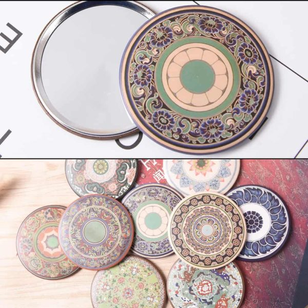 Retro Style Pocket Mirror