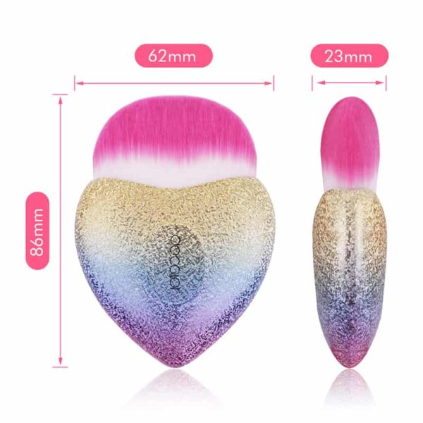 Colorful Foundation Brush