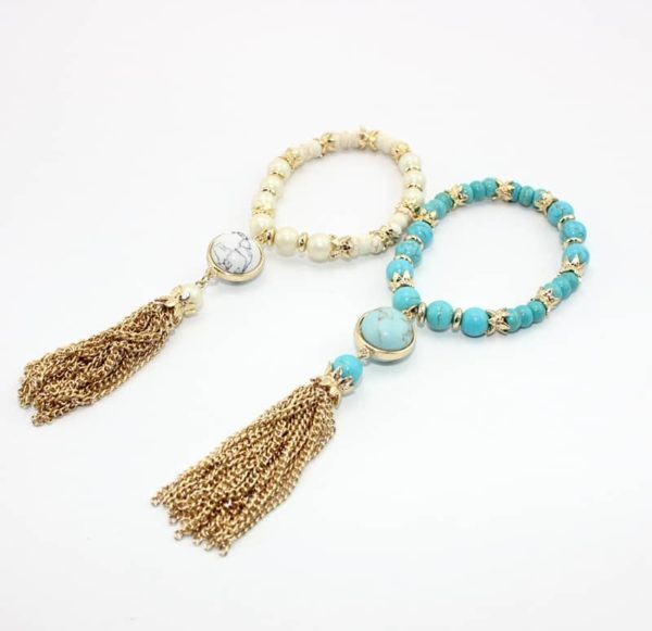 Women's Boho Bracelet with Tassel
