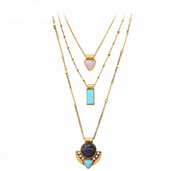 Women's Multilayer Boho Necklace