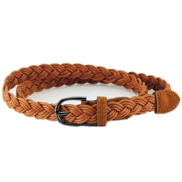 Bohemian Braided Leather Belt