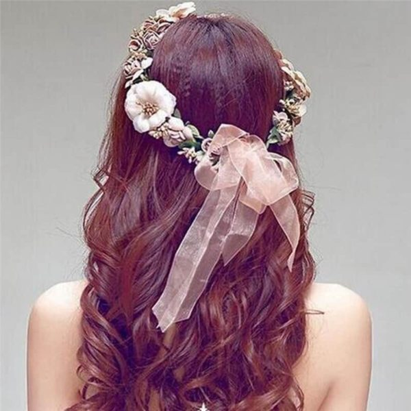 Boho Floral Hairband for Women