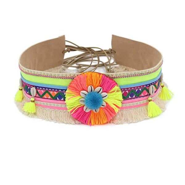 Women's Boho Waist Belt Different Colors