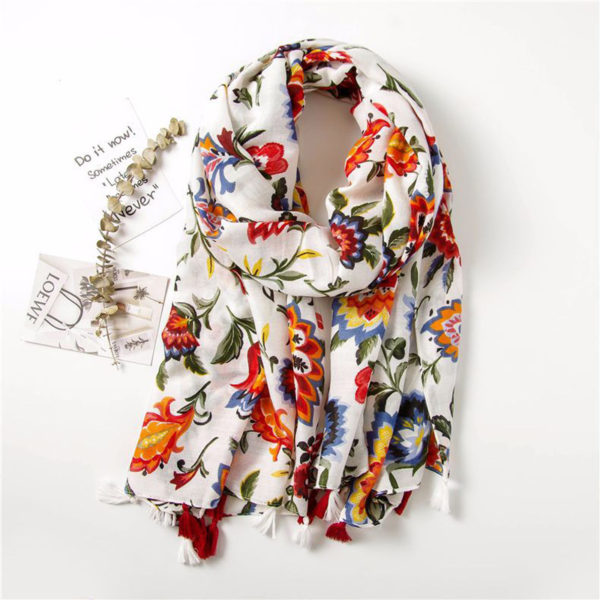 Colorful Boho Women Scarf